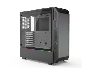 Phanteks Eclipse P350X Tempered Glass D-RGB Mid Tower - Black/White Interior