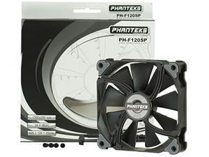 Phanteks PH-F120SP Black Static Pressure 120mm Case Fan