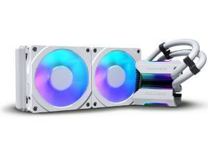 Phanteks Glacier One 240MPH White All-In-One 240mm CPU Water Cooler
