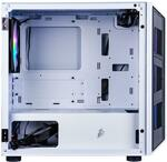 1st Player DK D3 White Micro ATX Case with 3 x 14cm RGB Fans