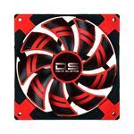AeroCool Dead Silence Edition 140mm Red LED Fan