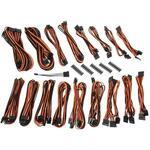 BitFenix Alchemy 2.0 PSU Cable Kit CSR-Series - Black / Orange