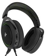 CORSAIR HS50 STEREO Gaming Headset, Green