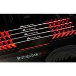 Corsair Vengeance LED Red 32GB 4x8GB DDR4 PC4-25600 3200MHz Dual Channel Kit
