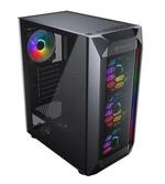 Cougar MX410 Mesh-G High Airflow RGB Gaming Case with Tempered Glass Window - Mid-Tower