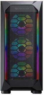 Cougar MX410 Mesh-G RGB Mid Tower Tempered Glass Window Case