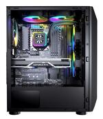 Cougar MX410-T RGB Gaming Case with Tempered Glass Window - Mid-Tower