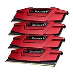 G.Skill Ripjaws V Red 32GB 4x8GB DDR4 PC4-19200 2400MHz Quad Channel Kit