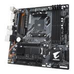 Gigabyte B450 AORUS M AMD B450 Chipset Socket AM4 Micro-ATX Motherboard