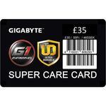 GIGABYTE £35 Super Care Card extended warranty insurance card