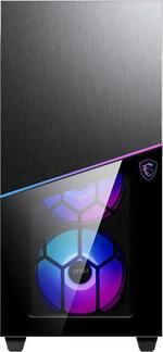 MSI MPG SEKIRA 100R ARGB Mid Tower Gaming Computer Case