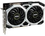 MSI NVIDIA GeForce GTX 1660 TI VENTUS XS OC 6GB GDDR6 Graphics Card