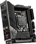 MSI MEG Z490I UNIFY LGA1200 Z490 Chipset Mini-ITX Motherboard