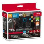 SPEEDLINK Torid 2.4Ghz Wireless Gamepad for PC/PS3, Black
