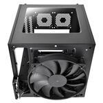 Thermaltake Core V1 Mini ITX case, Black, Windowed