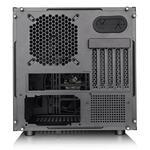 Thermaltake Core V21 Micro ATX case, Black, Windowed