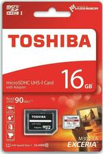 Toshiba Exceria M302 16GB MicroSDHC Class 10 Memory Card