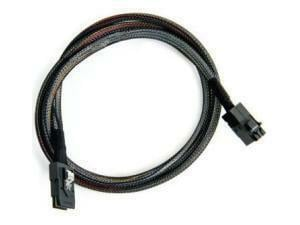 Adaptec Mini SAS HD x4 SFF-8643 to Mini SAS x4 SFF-8087 cable