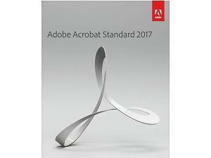 Adobe Acrobat Standard 2017 - Retail Boxed - 1 User
