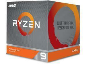 AMD Ryzen 9 3900X Twelve-Core Processor/CPU with Wraith Prism RGB LED Cooler