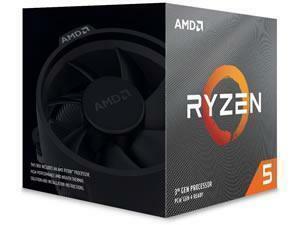 AMD Ryzen 5 3600XT Six-Core Processor/CPU with Wraith Spire Cooler