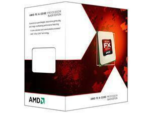 AMD Piledriver FX-4 Quad Core 4300 3.80Ghz Socket AM3plus Processor - Retail