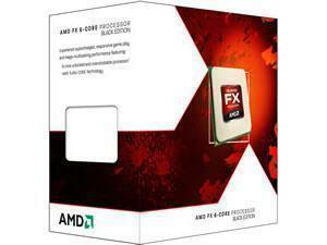 AMD Piledriver FX-6 Six Core 6300 Black Edition 3.50Ghz Socket AM3plus Processor - Retail