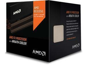 AMD Piledriver FX-8 Eight Core 8350 4.00Ghz Socket AM3plus Processor with Wraith Cooler - Retail