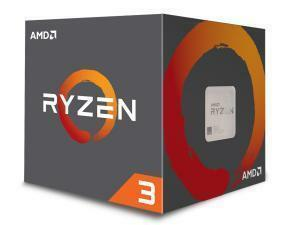 AMD Ryzen 3 1200 Quad-Core Processor with Wraith Stealth 65W cooler