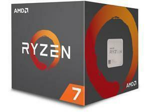 AMD Ryzen 7 2700 Eight-Core Processor with Wraith Spire LED Cooler