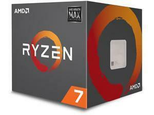 AMD Ryzen 7 2700 Eight-Core Processor with Wraith Max RGB Cooler