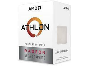 AMD Athlon 3000G Dual-Core AM4 Processor with Radeon Vega Graphics