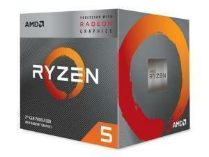 AMD Ryzen 5 3400G Quad-Core Processor/CPU,  Radeon Vega Graphics with Wraith Spire Cooler