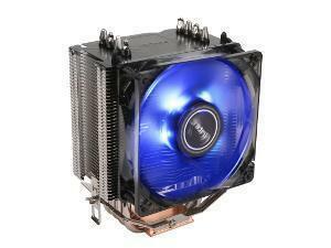 Antec C40 Quad Heatpipe Intel/AMD CPU Cooler - Blue LED