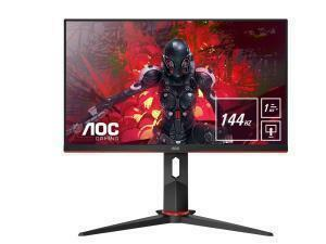 AOC Q27G2U/BK  27inch flat gaming monitor with 144Hz and 1ms response time
