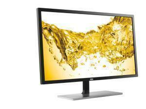 AOC U2879VF 28inch LDC Monitor 4K, Black / Silver