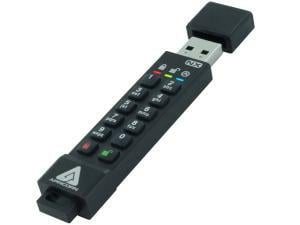 Apricorn Aegis Secure Key 3NX 2GB USB 3.1 Flash Memory Drive