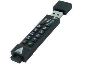 Apricorn Aegis Secure Key 3NX 4GB USB 3.1 Flash Memory Drive