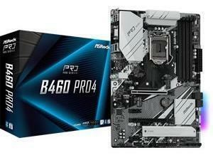 ASRock B460 Pro4 LGA1200 B460 Chipset ATX Motherboard