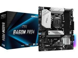 ASRock B460M Pro4 LGA1200 B460 Chipset mATX Motherboard