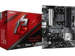ASRock B550 Phantom Gaming 4 AMD AM4 B550 Chipset ATX Motherboard