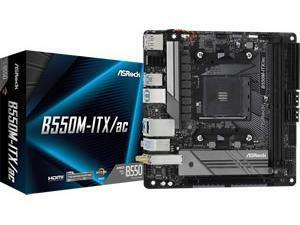ASRock B550M-ITX/ac AMD AM4 B550 Chipset MITX Motherboard