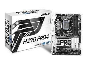 Asrock H270 PRO4 Intel H270 1151 ATX DDR4 XFire VGA DVI HDMI