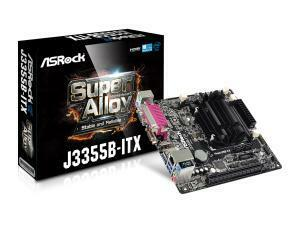 Asrock J3355B-ITX Mini-ITX Motherboard with Dual Core Processor J3355 (up to 2.5GHz)