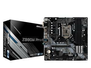 Asrock Z390M Pro 4 Z390 LGA 1151 Micro-ATX Motherboard