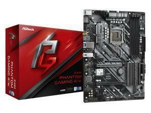 ASRock Phantom Gaming 4/ac LGA 1200 Z490 Chipset ATX Motherboard