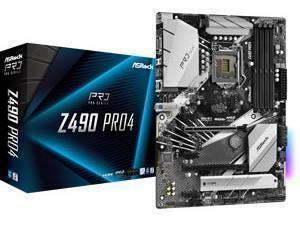 ASRock Z490 Pro4 LGA 1200 Z490 Chipest Motherboard