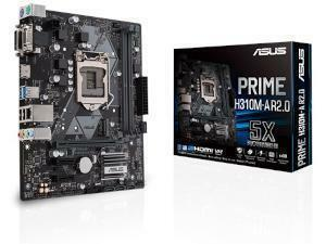 Asus PRIME H310M-A R2.0 Intel H310 Chipset Socket  1151 Micro-ATX Motherboard