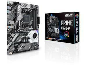 ASUS PRIME X570-P AMD X570 Chipset Socket AM4 ATX Motherboard