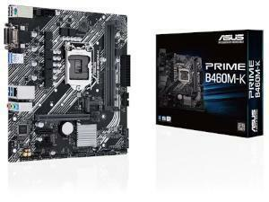 ASUS PRIME B460M-K Intel B460 Chipset Socket 1200  Micro-ATX Motherboard